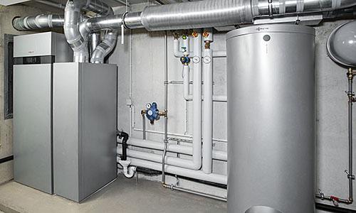 Luft- / Wasserwärmepumpe