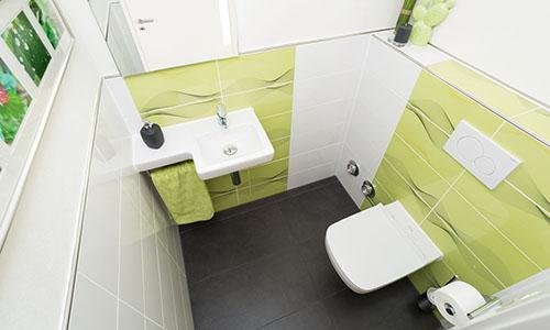 Gästetoilette und Badsanierung